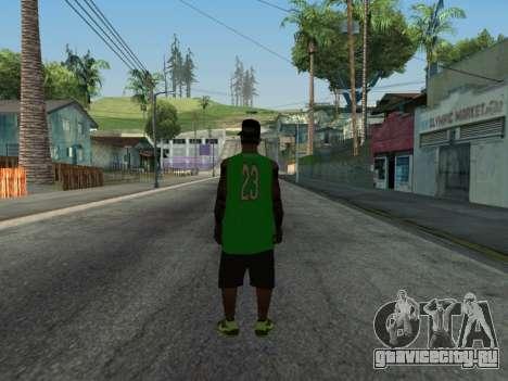 Fam3 Skin для GTA San Andreas второй скриншот