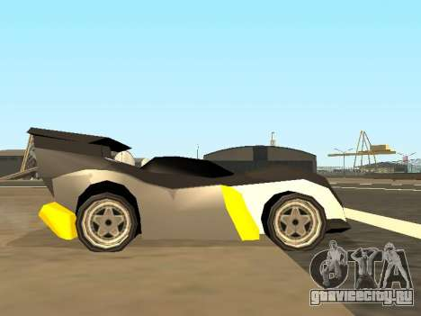 RC Bandit (Automotive) для GTA San Andreas вид сзади