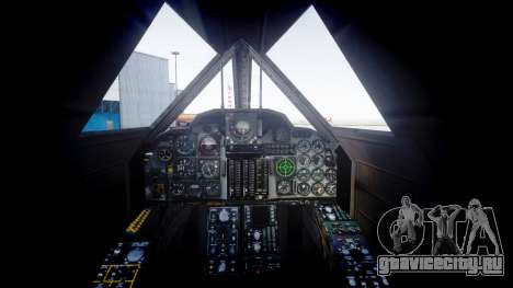 Lockheed SR-71 Blackbird для GTA 4 вид сзади слева