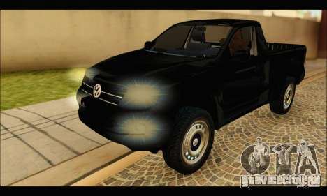 Volkswagen Amarok Cabina Simple для GTA San Andreas