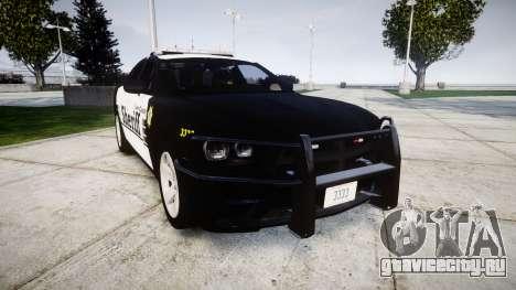 Dodge Charger 2013 County Sheriff [ELS] v3.2 для GTA 4