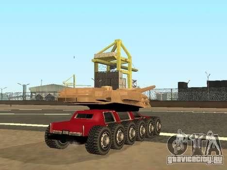 Tink Tank для GTA San Andreas вид слева
