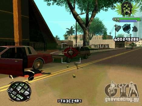 C-HUD Marihaus для GTA San Andreas четвёртый скриншот