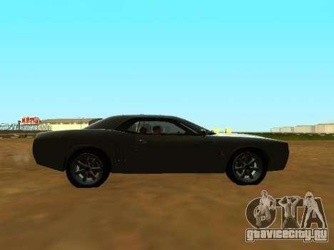 GTA 5 Bravado Gauntlet для GTA San Andreas вид сбоку