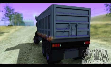 HVY Biff (GTA IV) для GTA San Andreas вид слева