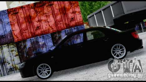 Subaru Impreza Hellaflush 2004 для GTA San Andreas вид изнутри