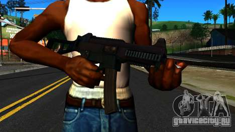 UMP9 from Battlefield 4 v1 для GTA San Andreas третий скриншот
