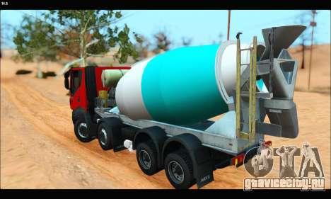 Iveco Trakker 2014 Concrete (IVF & ADD) для GTA San Andreas