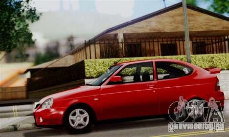 Lada Priora Sport для GTA San Andreas вид сзади слева