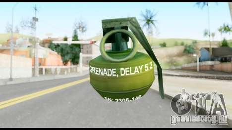 MGS1-2 Grenade from Metal Gear Solid для GTA San Andreas второй скриншот