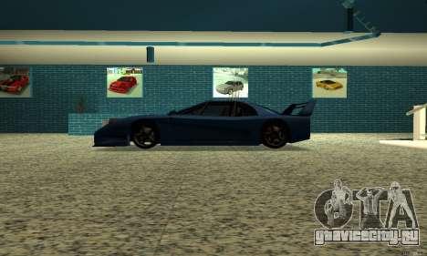 HD Turismo для GTA San Andreas вид слева