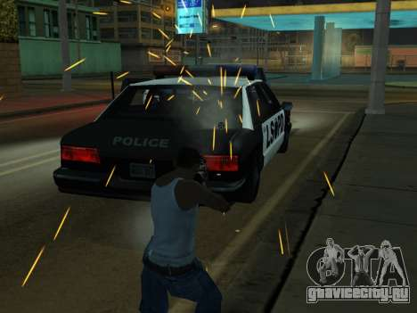 New Effects Pack White Version для GTA San Andreas десятый скриншот