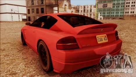 Schyster Fusilade Sport 1.0 (HQLM) для GTA San Andreas вид слева