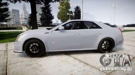 Cadillac CTS-V 2010 для GTA 4 вид слева
