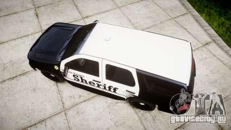 Chevrolet Tahoe 2013 County Sheriff [ELS] для GTA 4 вид справа