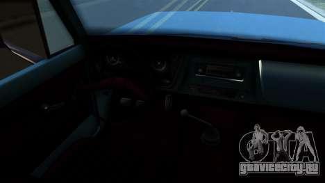 Chevrolet C30 для GTA San Andreas вид справа