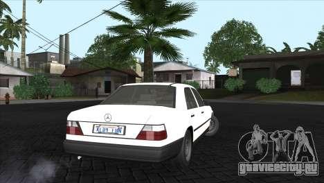 Mercedes-Benz W124 для GTA San Andreas вид слева
