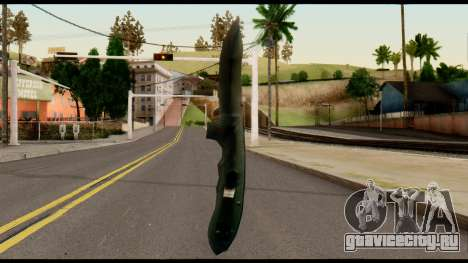Solidsnake CQC Knife from Metal Gear Solid для GTA San Andreas