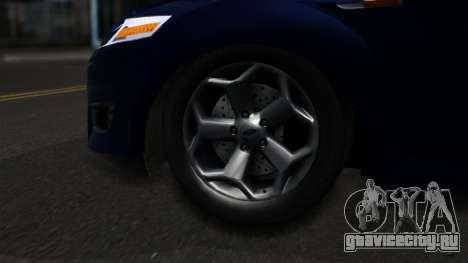 Ford Mondeo 2007 для GTA San Andreas вид сзади слева