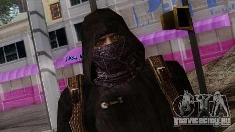 Resident Evil Skin 8 для GTA San Andreas третий скриншот