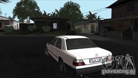 Mercedes-Benz W124 для GTA San Andreas вид справа