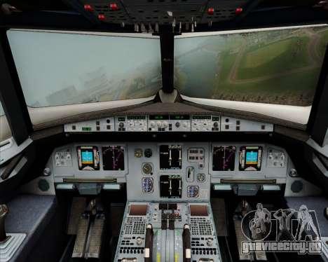 Airbus A320-200 Citilink для GTA San Andreas салон