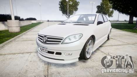 GTA V Benefactor Schafter body small rims для GTA 4