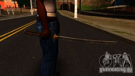 Katana from Shadow Warrior для GTA San Andreas третий скриншот