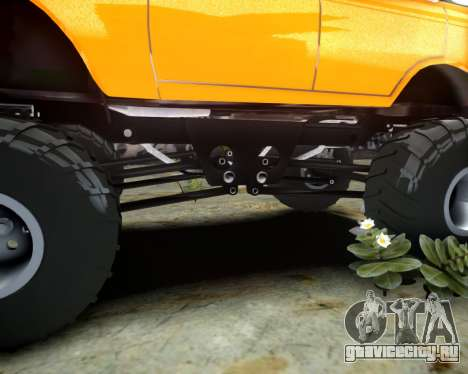 Москвич 412 Монстер для GTA 4 вид сбоку