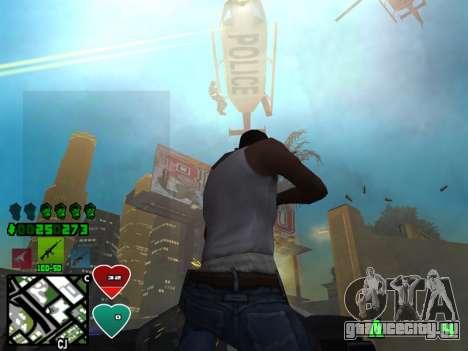 C-HUD Classic v4.1 для GTA San Andreas третий скриншот