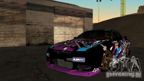 Nissan Skyline R32 Tuning Factory для GTA San Andreas