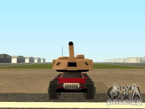Tink Tank для GTA San Andreas вид сзади слева