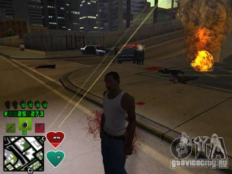 C-HUD Classic v4.1 для GTA San Andreas пятый скриншот