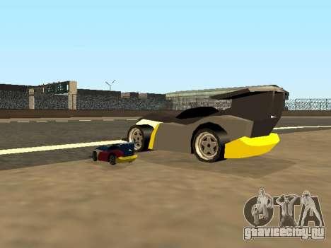 RC Bandit (Automotive) для GTA San Andreas вид снизу