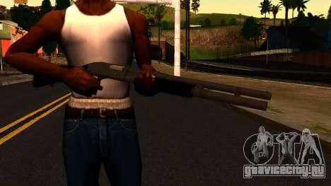 Чёрный MP-133 Серебряный для GTA San Andreas третий скриншот