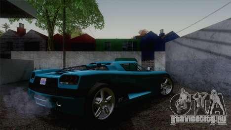 GTA V Overflod Entity XF v.2 для GTA San Andreas вид слева