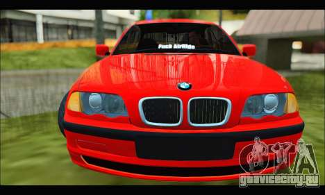 BMW e46 Sedan V2 для GTA San Andreas вид слева