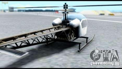 Beta Sparrow для GTA San Andreas вид сзади слева