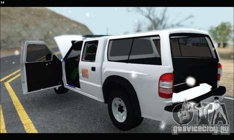 Chevrolet S-10 P.N.A для GTA San Andreas вид справа