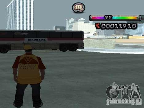 C-HUD by nester_n для GTA San Andreas третий скриншот