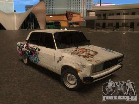 ВАЗ 2105 Ржавое корыто для GTA San Andreas