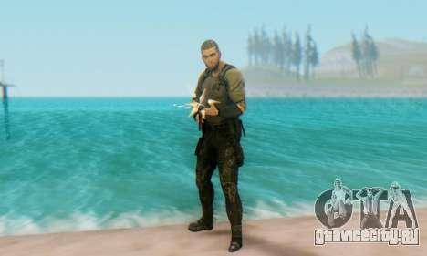 Sam Fisher - Paladin Outfit (Splinter Cell Black для GTA San Andreas четвёртый скриншот