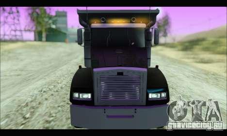 HVY Biff (GTA IV) для GTA San Andreas вид сзади слева