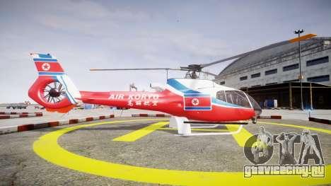 Eurocopter EC130 B4 Air Koryo для GTA 4 вид слева