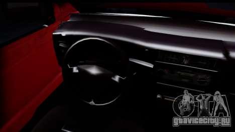 Toyota Hilux FB для GTA San Andreas вид сзади слева