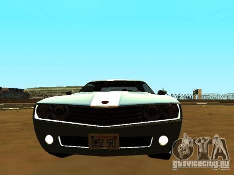 GTA 5 Bravado Gauntlet для GTA San Andreas вид сзади слева