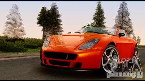 GTA 5 Dewbauchee Rapid GT Cabrio [IVF] для GTA San Andreas