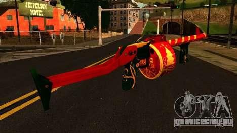 Новогодний Дробовик для GTA San Andreas второй скриншот