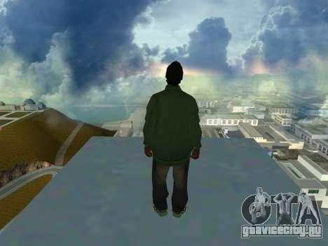 Ryder Skin Grove St. Family для GTA San Andreas второй скриншот
