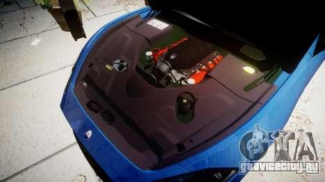 Maserati GranTurismo MC Stradale для GTA 4 вид изнутри